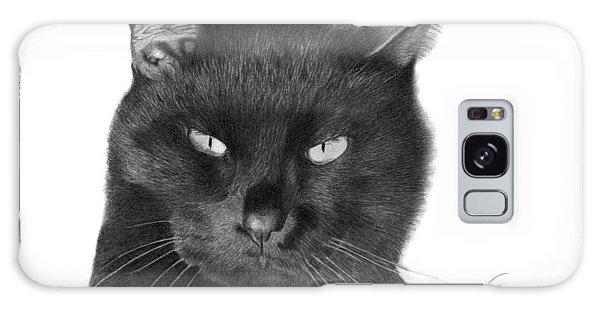 Black Cat - 008 Galaxy Case by Abbey Noelle