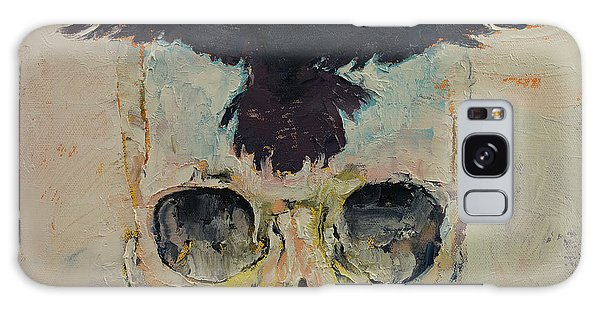 Black Crow Galaxy Case by Michael Creese