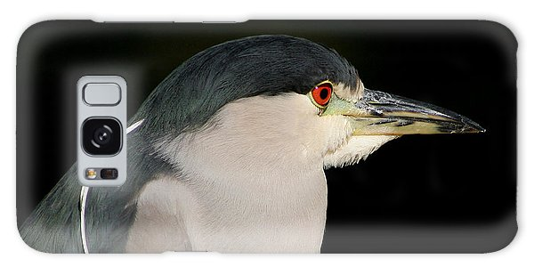 Black-crowned Night Heron Galaxy Case by Bob and Jan Shriner