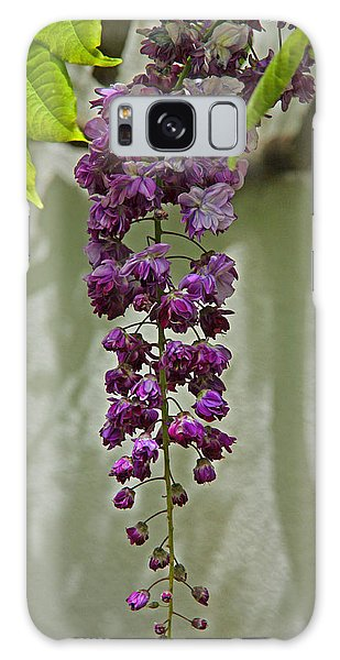 Black Dragon Wisteria Galaxy Case by Suzanne Stout
