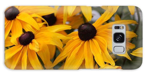 Black Eye Susan Flower Galaxy Case
