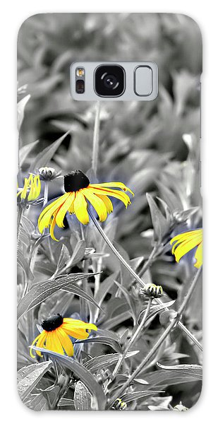 Galaxy Case featuring the photograph Black-eyed Susan Field by Carolyn Marshall