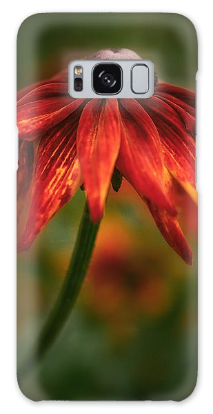 Black-eyed Susan Galaxy Case by Jacqui Boonstra