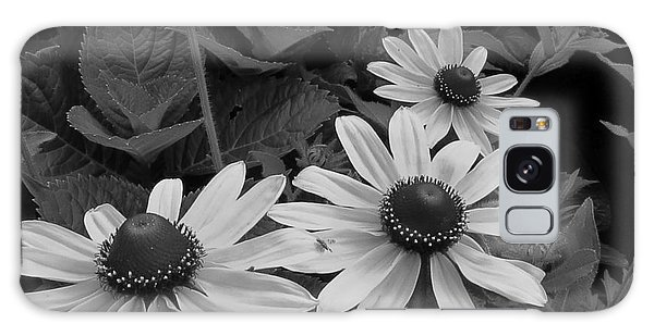 Black-eyed Susan Macro Galaxy Case by Scott Cameron