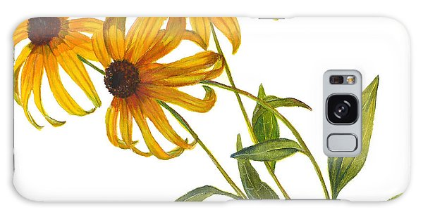 Black Eyed Susan - Rudbeckia Fulgida Galaxy Case