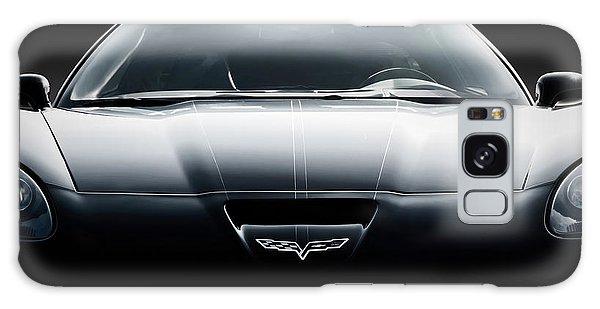 Sport Car Galaxy Case - Black Grand Sport Corvette by Douglas Pittman