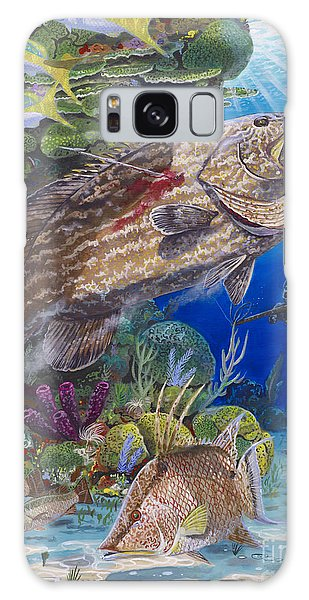 Mangrove Galaxy Case - Black Grouper Hole by Carey Chen