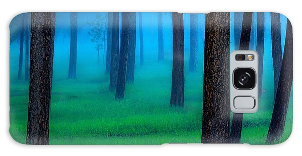 Woods Galaxy Case - Black Hills Forest by Kadek Susanto