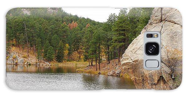 Black Hills Lake Galaxy Case by Mary Carol Story