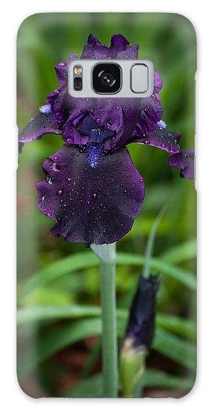 Black Iris Galaxy Case by Penny Lisowski