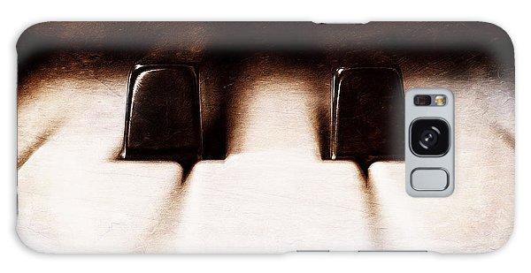 Musical Galaxy Case - Black Keys D Flat And E Flat  by Scott Norris