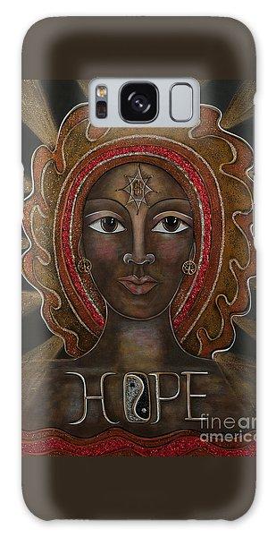 Hope - Black Madonna Galaxy Case
