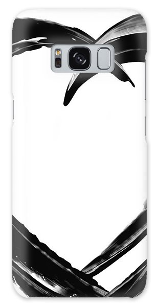 Heart Galaxy Case - Black Magic 311 By Sharon Cummings by Sharon Cummings