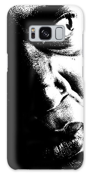 Black Miracle Portrait 12 Galaxy Case by Cleaster Cotton