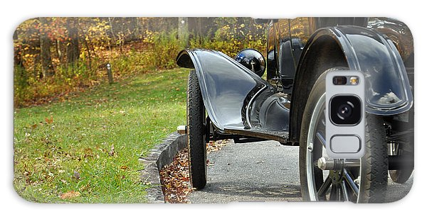 Black Model A On Blue Ridge Parkway Galaxy Case