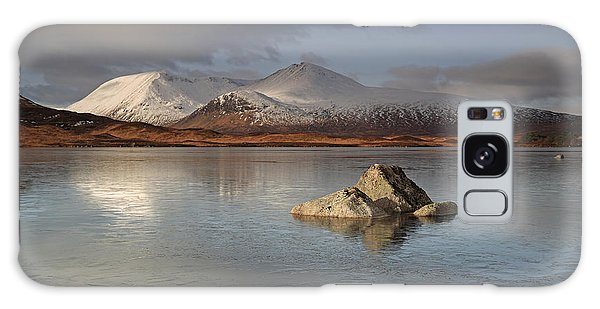Black Mount And Lochan Na H-achlaise Galaxy Case