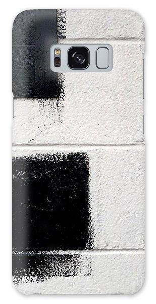 Black On White Galaxy Case