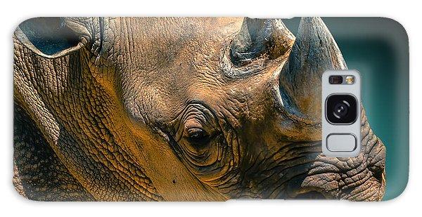 Black Rhinoceros Galaxy Case by Brian Stevens