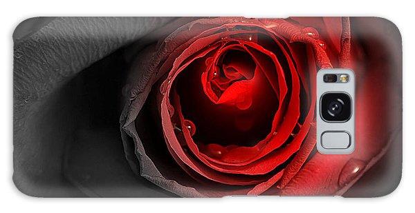 Black Rose Galaxy Case