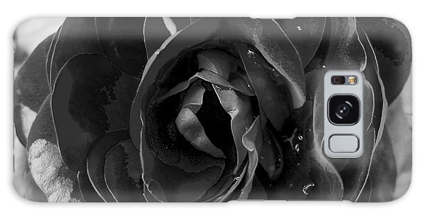 Black Rose Galaxy Case by Nina Ficur Feenan