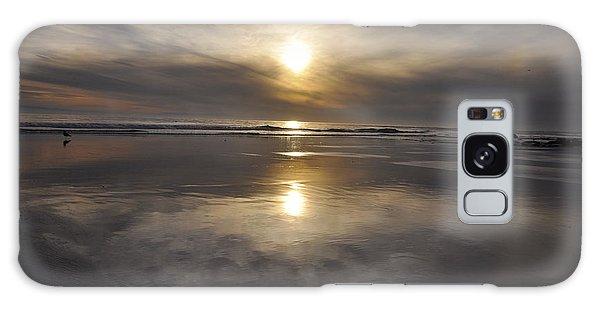Black Sunset Galaxy Case by Gandz Photography