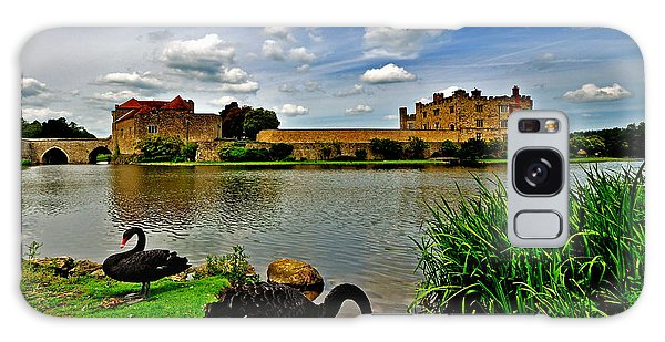 Black Swans At Leeds Castle II Galaxy Case