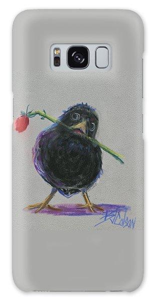 Blackbird Love Galaxy Case by Billie Colson