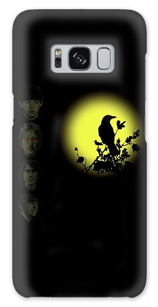 Blackbird Singing In The Dead Of Night Galaxy Case