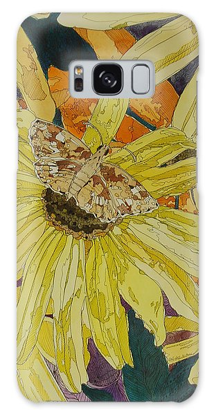 Blackeyed Susans And Butterfly Galaxy Case