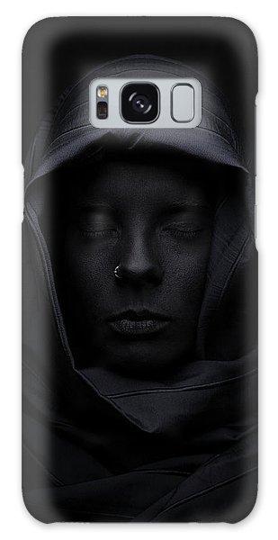 Scarf Galaxy Case - Blackface by Look J. Boden