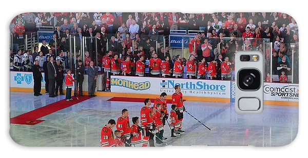 Blackhawks Fight Cancer Galaxy Case
