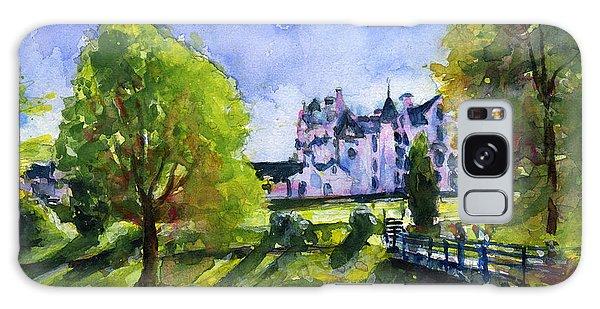 Blair Castle Bridge Scotland Galaxy Case