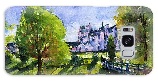 Blair Castle Bridge Scotland Galaxy Case by John D Benson