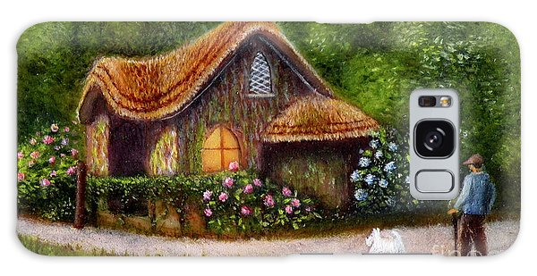 Blaise Rustic Cottage Galaxy Case