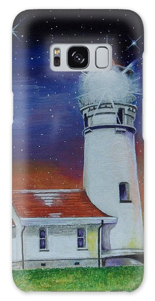 Blanco Lighthouse Galaxy Case by Thomas J Herring