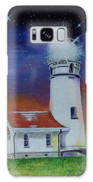 Blanco Lighthouse Galaxy Case