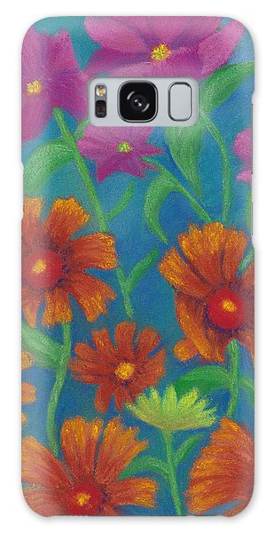 Blanket Flowers And Cosmos Galaxy Case
