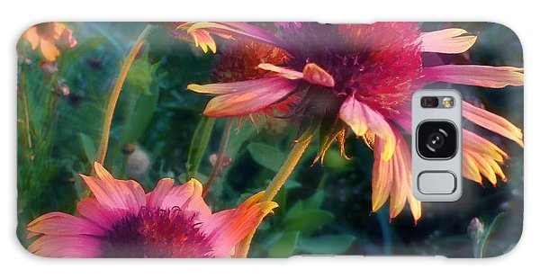 Blanket Flowers At Sunset Galaxy Case