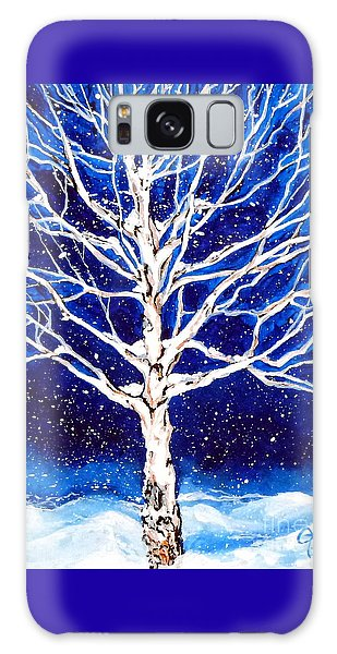 Blanket Of Stillness Galaxy Case by Jackie Carpenter