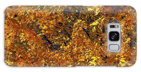 Blast Of Autumn Galaxy Case