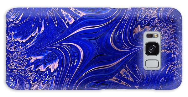 Blau Punked Galaxy Case