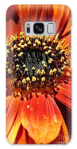 Blazing Sunflower Galaxy Case