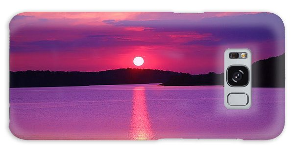 Blazing Sunset Galaxy Case by Lorna Rogers Photography