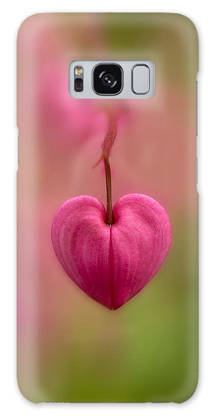 Bleeding Heart Flower Galaxy Case
