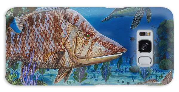 Mangrove Snapper Galaxy Case - Blend In Re0015 by Carey Chen