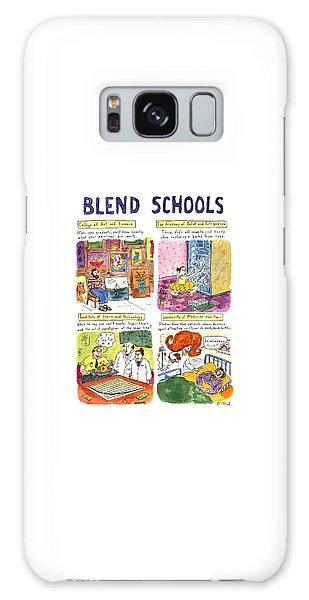 Blend Schools Galaxy Case