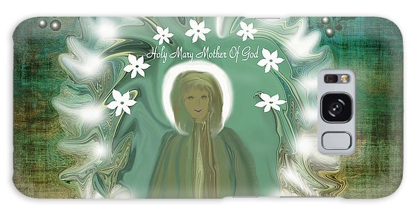Blessed Mother If She Came To Earth Today Galaxy Case by Sherri's Of Palm Springs