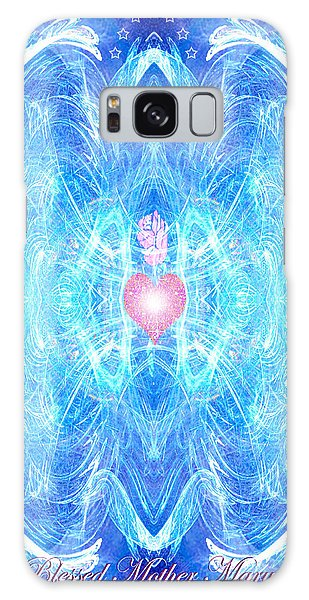 Blessed Mother Mary Galaxy Case