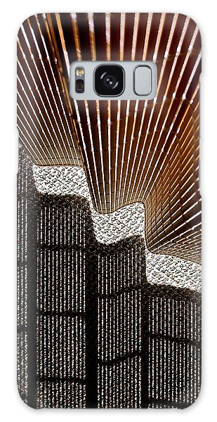 Blind Shadows Abstract I Galaxy Case by Kirsten Giving