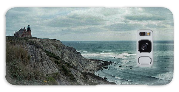 Block Island South East Lighthouse Galaxy Case by Skip Willits